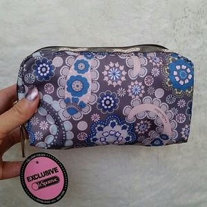 Lesportsac Earth Paisley cosmetic rectangle case